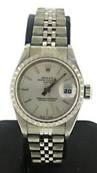 Rolex 26mm Engine Turn Bezel Ladies Watch