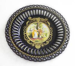 Handcrafted Porcelain Round Plate