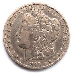 1893 O Better Date Morgan Dollar
