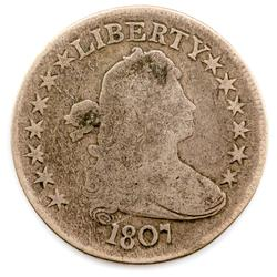 1807 Type 1 Draped Bust Half