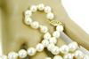 Beautiful Strand of 6.5MM Pearls with 14K Gold Clasp