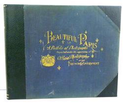 Rare 1894 Beautiful Paris Portfolio of Photographs