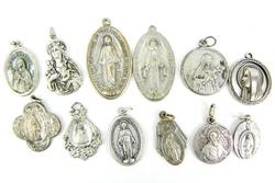 Collection of Early Catholic Religious Medals
