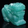 Jade Carved Ancient Monster Pi Xiu Pendant