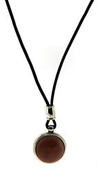 Sterling Silver RLL Gemstone Pendant Necklace