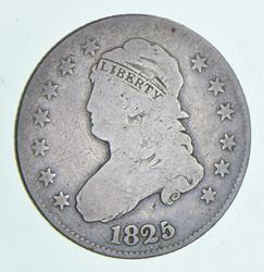 1825 Capped Bust Quarter