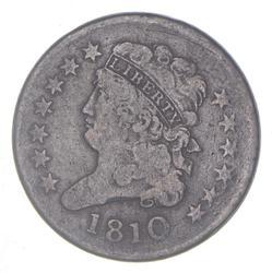 1810 Classic Head Half Cent
