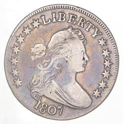 1807 Draped Bust Half Dollar