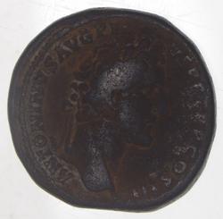 138-161 AD Sestertius - Antoninus Pius - Ancient Roman Coin