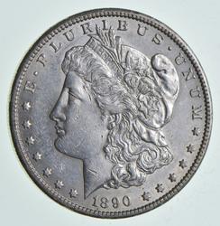 1890-CC Morgan Silver Dollar