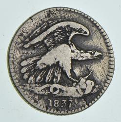 1837 One Cent Feuchtwanger Token