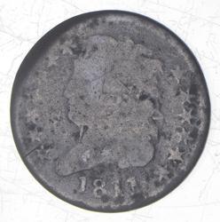 1811 Classic Head Half Cent