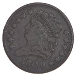 1809/6 Classic Head Half Cent