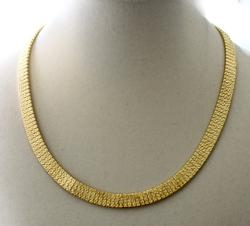 Elegant 18K Heavy Necklace
