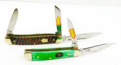 2 Steel Warrior Pocket Knives, Like New