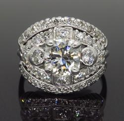 Vintage 1.80CTW Diamond Ring