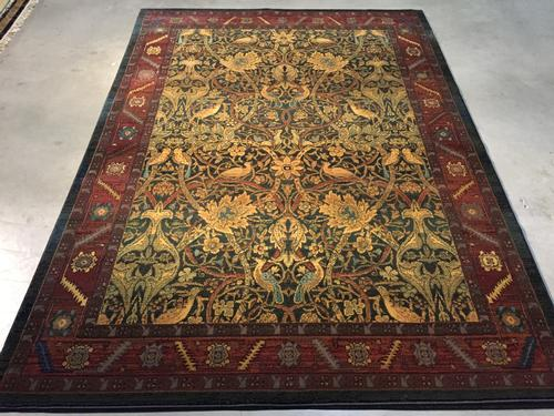 Magnificent  Vintage Reproduction Rug 7x10