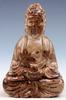 Jade Carved Seated Buddha Praying