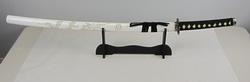 White 41 inches Bushido Dragon Samurai Katana