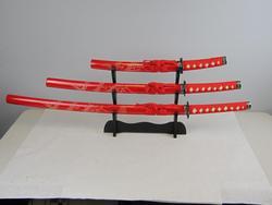 Red 41 inches Bushido Dragon Samurai Katana