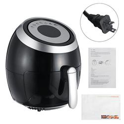 5.5L Electric Air Fryer Pan Chip Oil Free Oven Cooker