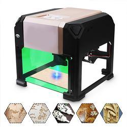 3000mW USB Laser Engraver Desktop DIY Logo Mark Printer