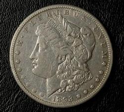 Nice Date 1893-CC Morgan Silver Dollar Circulated