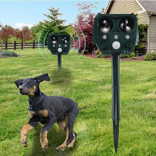 Solar Battery Ultrasonic Pest Animal Repeller