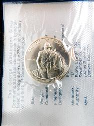George Washington Silver Proof Commemorative Coin