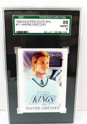 Wayne Gretzky, Kings Graded Hockey Card
