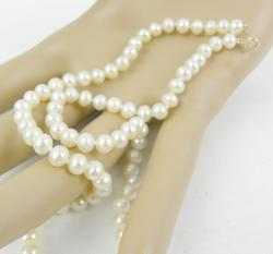 High Luster 5MM Pearls with 10K Gold Clasp