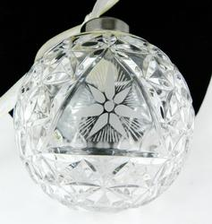 2000 Waterford Times Square Crystal Ornament