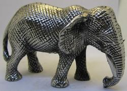 Pewter Elephant Sculpture