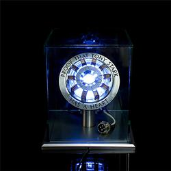 Tony Arc Reactor LED Lamp With Display Stand Cover