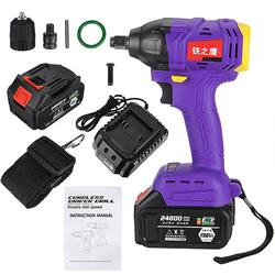 Cordless Drill Brushless Impact Wrench High Torque