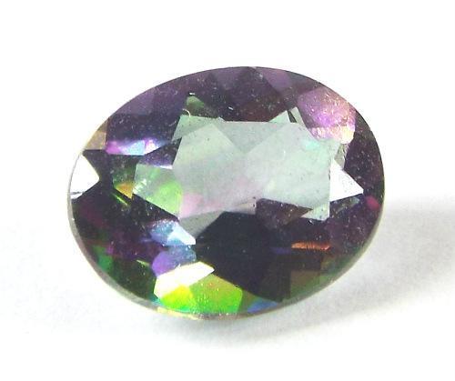 Stunning Mystic Topaz oval Gemstone