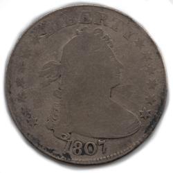 Scarce Early 1807 Quarter
