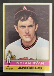 1976 Topps #330 Nolan Ryan Grade NM