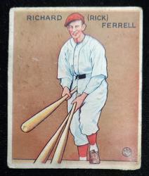 1933 Goudey #197 Richard Ferrell HoF