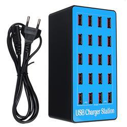 20 ports USB Charger Desktop Fast Charging Station
