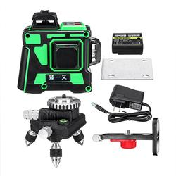 12 Lines 3D Green Laser Level Self Leveling Tool