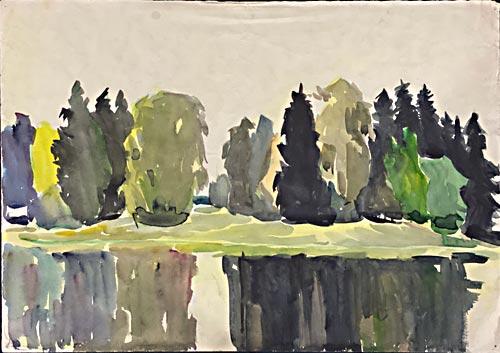RUSSIAN ART FROM ESTATE OF LEONID KORNEEV