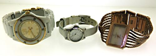 Lot of 3 Fashion Watches