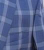 Windowpane Notch Lapel Sport Coat, Made In Italy