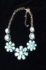 Set Of Fashion Jewelry Neck Lace And Earrings
