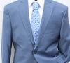 Stylish Pinstripe Suit by Galante, Made in Italy