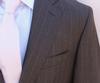 Phenomenal 2-Button Stipe Slim fit Suit