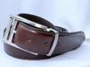 Classy Full Grain Leather Belt, Made In Italy