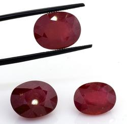 Gorgeous & Dazzling Ruby Set, 25.52ctw