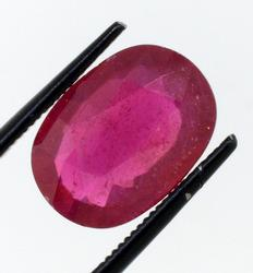 Excellent 3 Oval Rubies, 28.60ctw